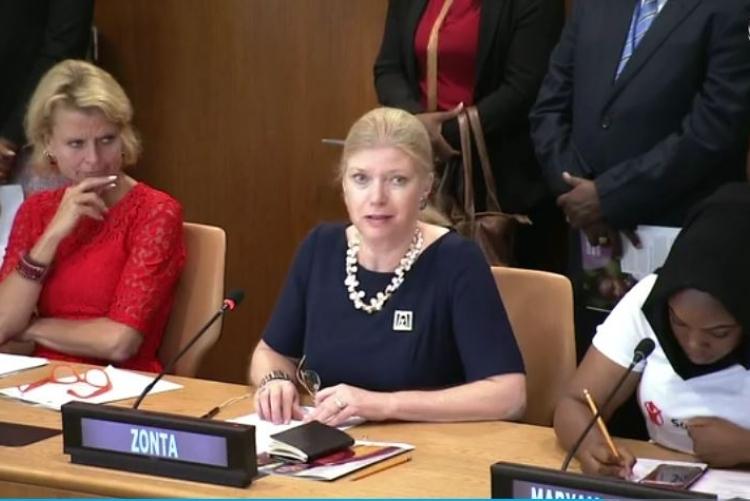 UN | Susanne von Bassewitz, Präsidentin ZI 2018-2020