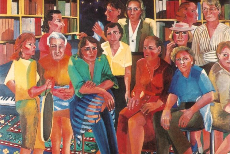 Großes Frauenbild, Tremezza von Brentano, 1985